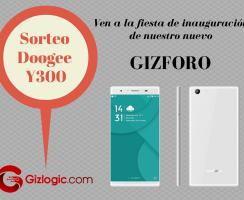 ¡Participa en el sorteo de un smartphone Doogee Y300! [FINALIZADO]