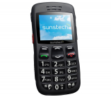 Sunstech CEL1BK, un móvil 2G barato pensado para personas mayores