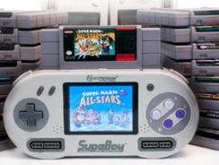 SupaBoy S, la Super Nintendo portátil de Hyperkin
