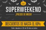 Descubre los mejores ofertones del Superweekend de Ebay.
