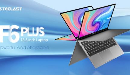 Teclast F6 Plus, el ordenador portátil 360º mejora sus prestaciones