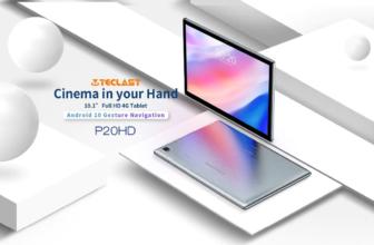 TeclastP20HD, una tableta 4G con buen precio y acabado
