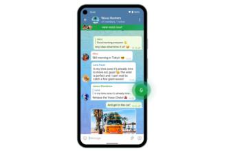 Telegramañade chats de voz grupales en su última actualización del año