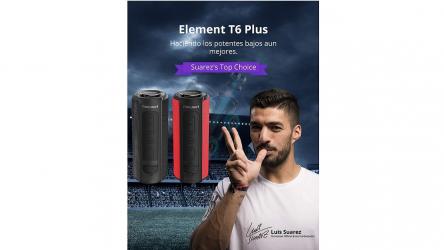 Tronsmart T6 Plus, un altavoz Bluetooth portátil de 40W con TWS