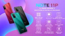 Ulefone Note 11P, un smartphone barato con una pantalla enorme