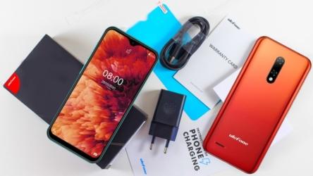 Ulefone Note 8P, un teléfono muy barato con Android 10 Go Edition