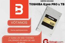¡Sorteamos un SSD Toshiba Q300 Pro valorado en más de 400 euros! [FINALIZADO]