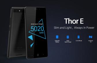 Vernee Thor E, ¿es un ereader o un smartphone?