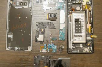 Vistazo al interior del Samsung Galaxy Note 9 y su sistema de refrigeración líquida