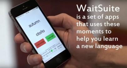 WaitSuite, aprovecha el tiempo para aprender idiomas
