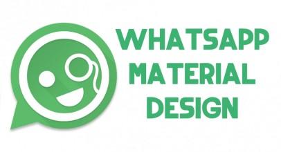 WhatsApp nuevo diseño con Material Design