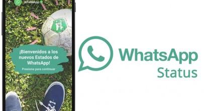 WhatsApp Status ya está disponible en tu móvil