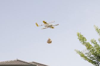 Wing, el servicio de drones de envío de Google debuta en Australia