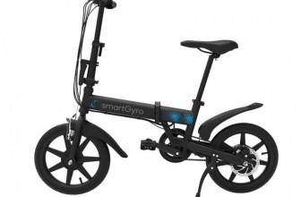 Woxter SG27-090, bici eléctrica plegable con autonomía de +30Km