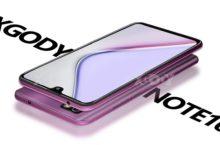 XGODY NOTE 10, un Smartphone de tamaño gigante