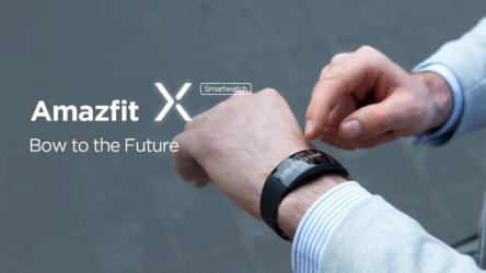 XiaomiAmazfitX,bandainnovadora con pantalla curva y medidor de O2