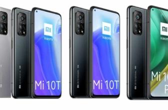 Conoce las especificaciones completas de Xiaomi Mi T10 y T10 Pro