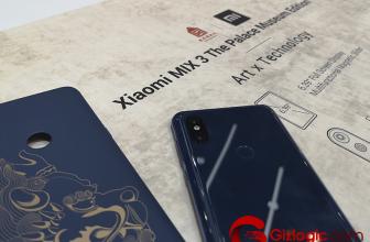 #MWC19: Xiaomi Mi Mix 3 Palace Museum Edition, elegante y con 10GB de RAM