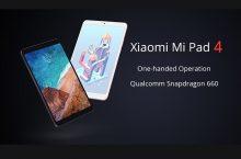 Xiaomi Mi Pad 4, la tablet ideal para tu entretenimiento