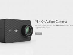 Xiaomi Yi 4K+, la nueva cámara deportiva barata que será top ventas