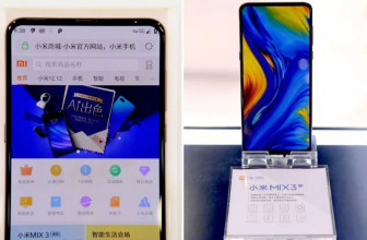 Xiaomi exhibe al Mi MIX 3 operando con la red 5G