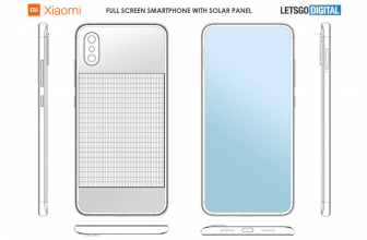 Xiaomi patenta un smartphone con panel solar equipado