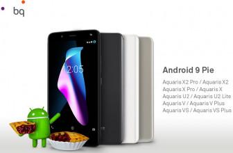 Ya conocemos cuáles son los Smartphones BQ que recibirán Android 9 Pie