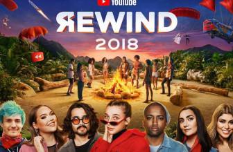 YouTubeRewind2018 – Vídeos, tendencias y canciones más destacadas