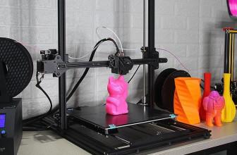 ZONESTAR Z10M2, impresora 3D a doble color y fácil de configurar