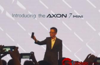 #IFA2016: ZTE presenta el smartphone Axon 7 Mini