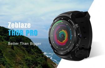Zeblaze THOR PRO, un reloj inteligente con acceso a redes móviles 3G