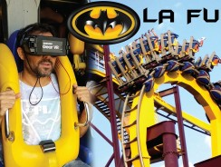 BATMAN Arkham Asylum; la primera montaña rusa virtual de España