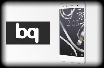 BQ X5 con CyanogenOS.