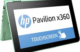 HP Pavilion X360, un convertible de colores