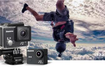 Dazzne P2, nueva cámara rival de la GoPro