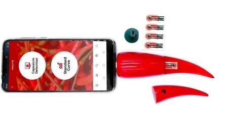 Chilica-Pod: gadget con forma de pimiento más WTF para tu smartphone