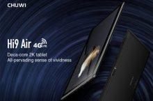 Chuwi Hi9 Air, nueva tablet 4G LTE asequible