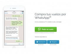 Comprar billetes de avión por WhatsApp ya es posible
