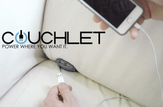 Couchlet, nuevo gadget para cargar tu móvil desde el sofá, busca financiación