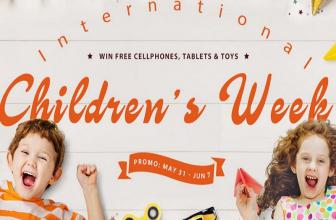 Descuentos para niños en Gearbest: los mejores gadgets y juguetes