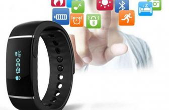E-Band S55: pulsera deportiva con reloj y notificaciones