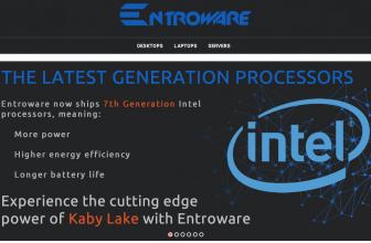 EntroWare Kratos-3000; GNU/Linux con hardware actual