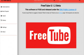 FreeTube, YouTube libre y privado