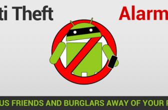 Alarma antirrobo Android: evitar perder nuestro Android.