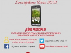 SORTEO: Doro 8031, un smartphone muy especial [FINALIZADO]