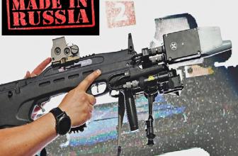 El Kaláshnikov Rex-1, el arma capaz de derribar drones