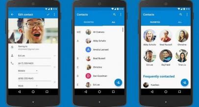 Contactos de Google se libera para Android 5.0