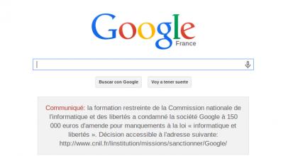 La CNIL le gana la partida a Google