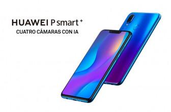 Huawei P Smart + baja su precio y se sitúa por debajo de los 300 euros