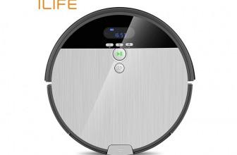 iLife V8S, robot de limpieza con trapeador integrado